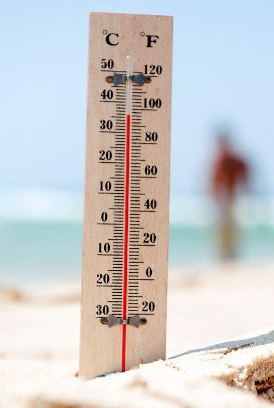 nyári hőség